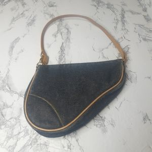 Christian Dior vintage saddle bag  Vintage preowne